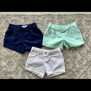 Bundle of Old Navy Shorts 4T
